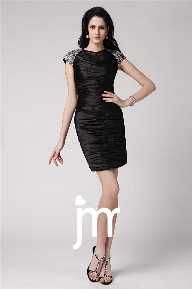 Mini robe noire moulante