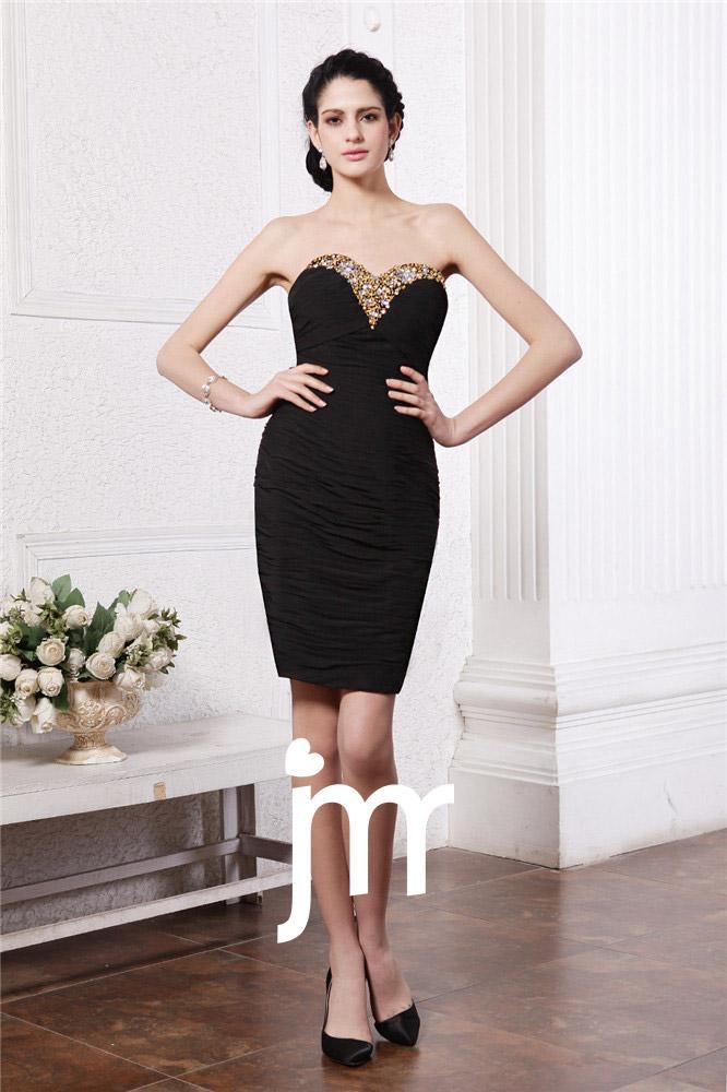 Mini robe de soirée moulante et courte