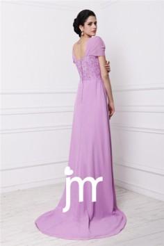 Robe soirée chic en violet