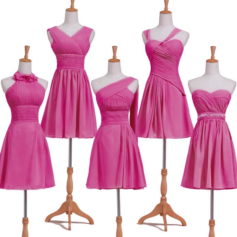 5-STYLES-robes-fuchsia-courtes