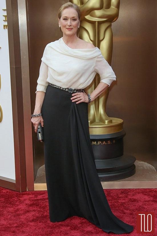 Meryl Streep choisit une création Lanvin