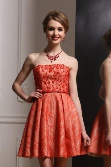 robe-soiree-bustier-corail