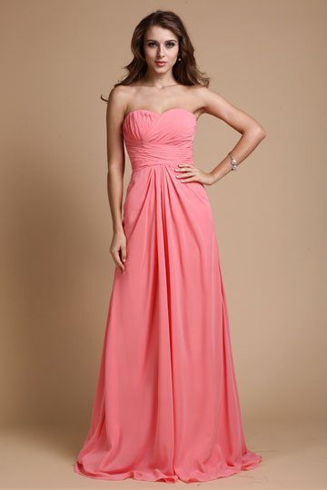 robe-soiree-corail-empire-bustier