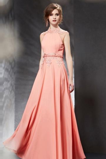 robe-soiree-longue-corail