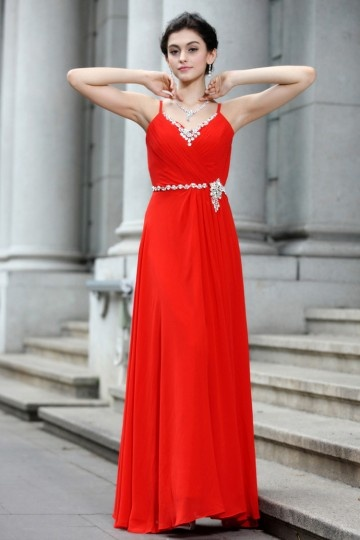 robe-de-soiree-rouge-bretelle-fine