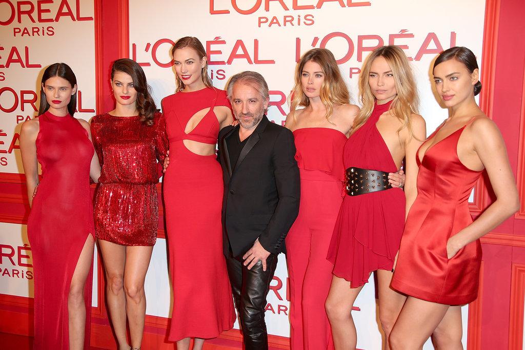 LOréal-robe-rouge-des-célébrités