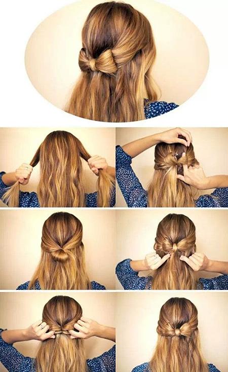 coiffure élégante pour fête tenue de fille