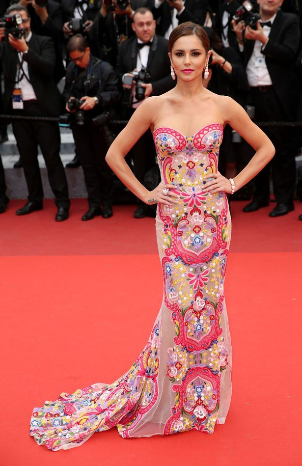 Cheryl robe bustier sexy a cannes