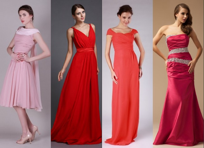 Robe rose, rouge, corail et fuscia chez Jmrouge.fr