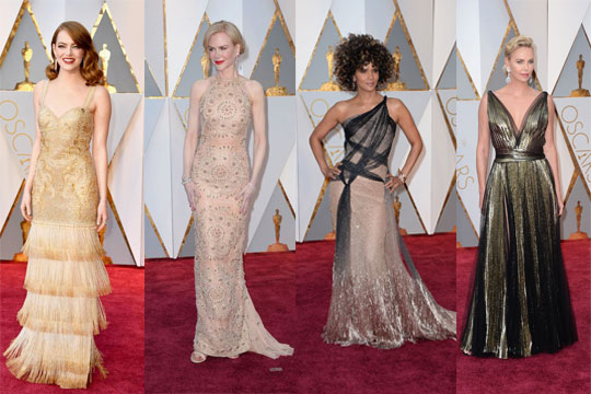 Robe de soirée longue de stars Oscars 2017