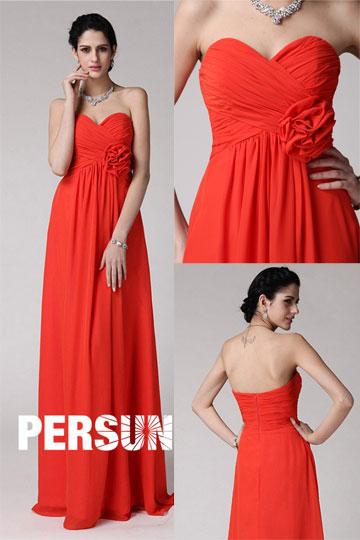 robe rouge pour temoin de mariage. Black Bedroom Furniture Sets. Home Design Ideas