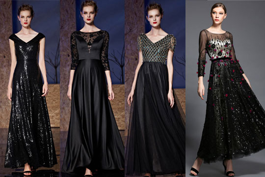 Robe soiree luxe occasion