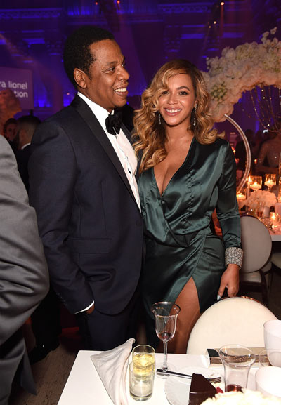 Beyonce et JayZ au Diamond ball