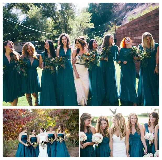 Les robe verte pour mariage