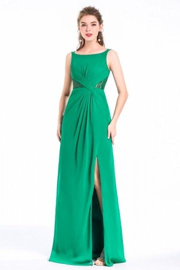 robe verte pour cocktail mariage