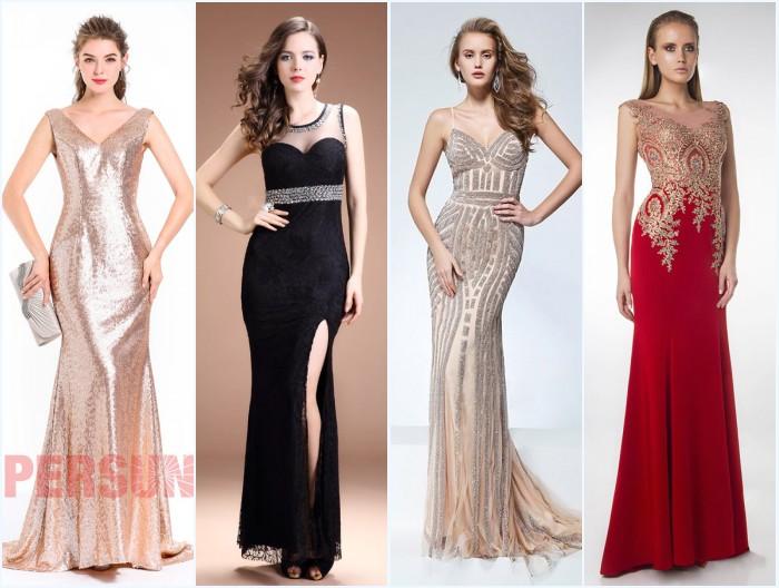 Robes longues pour gala 2018