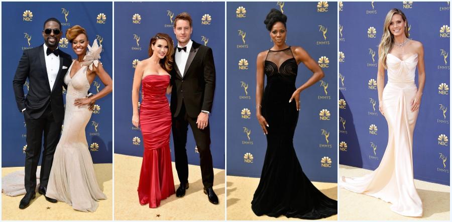 robes de star sirène Emmys 2018