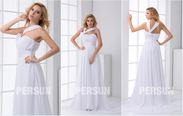robe empire pour mariée