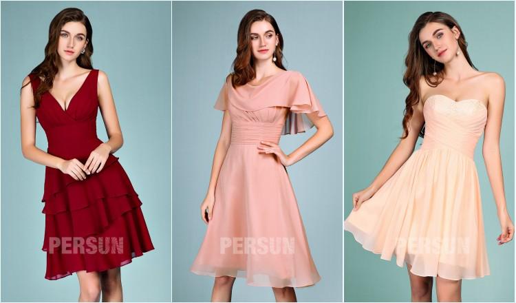 robes de soirée courtes empire pas cher 2019