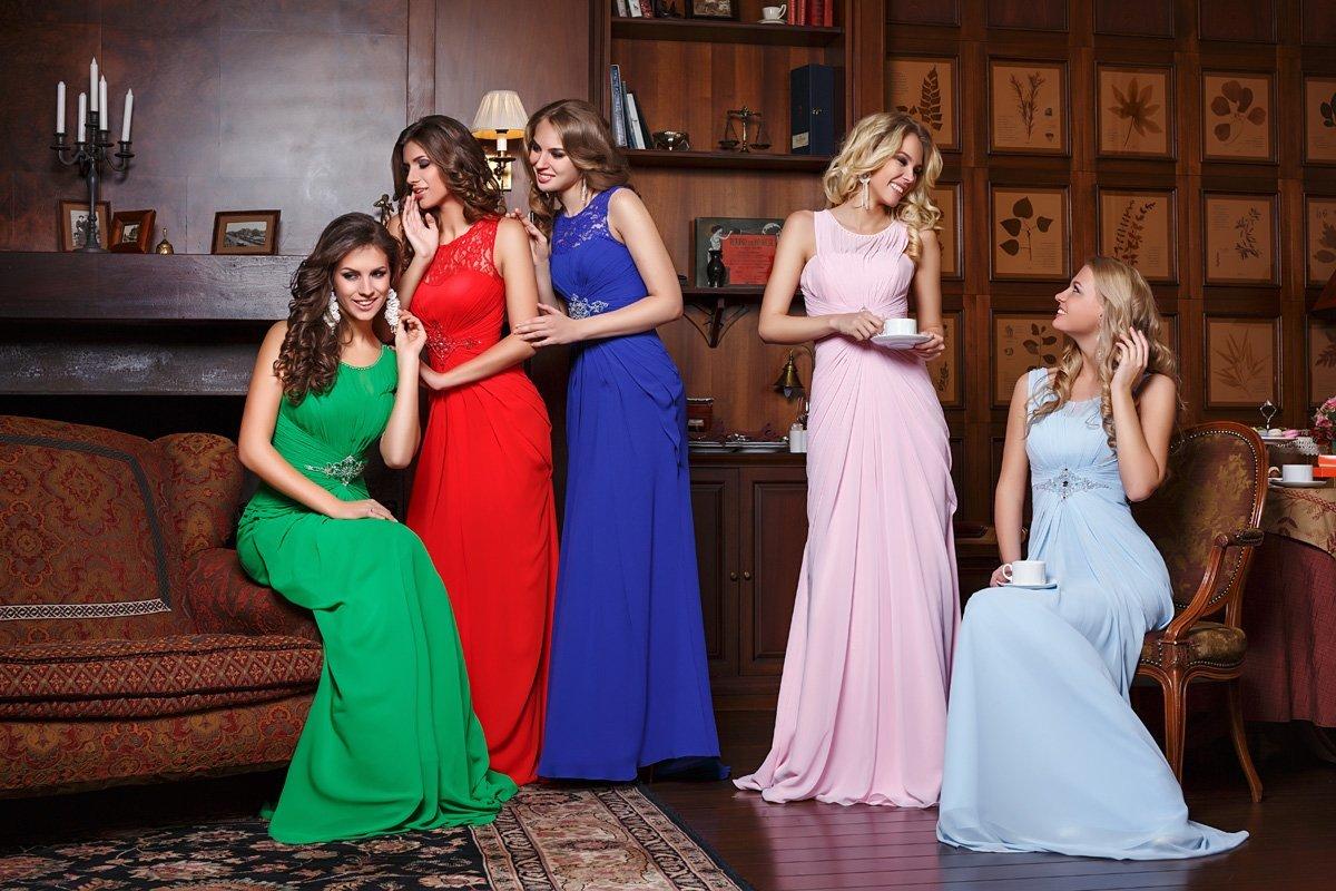 robes de gala longues élégantes