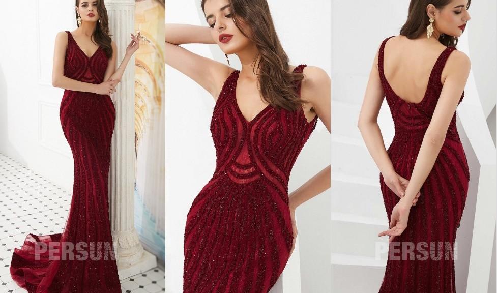 robe-de-soiree-sirene-bordeaux-en-dentelle-ornee-cristaux