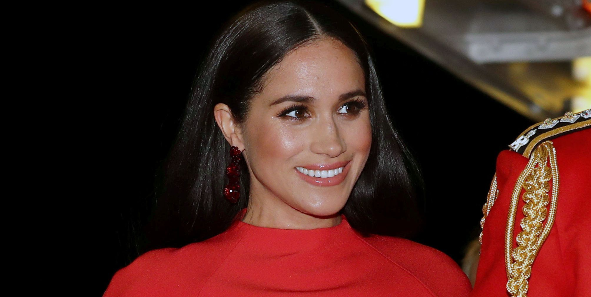 maquillage de Meghan Markle au Mountbatten Festival of Music 2020