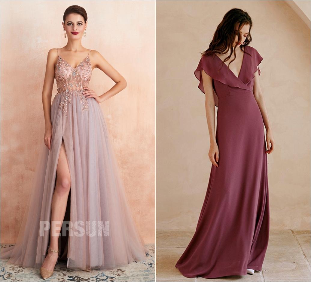 robe de bal longue 2020