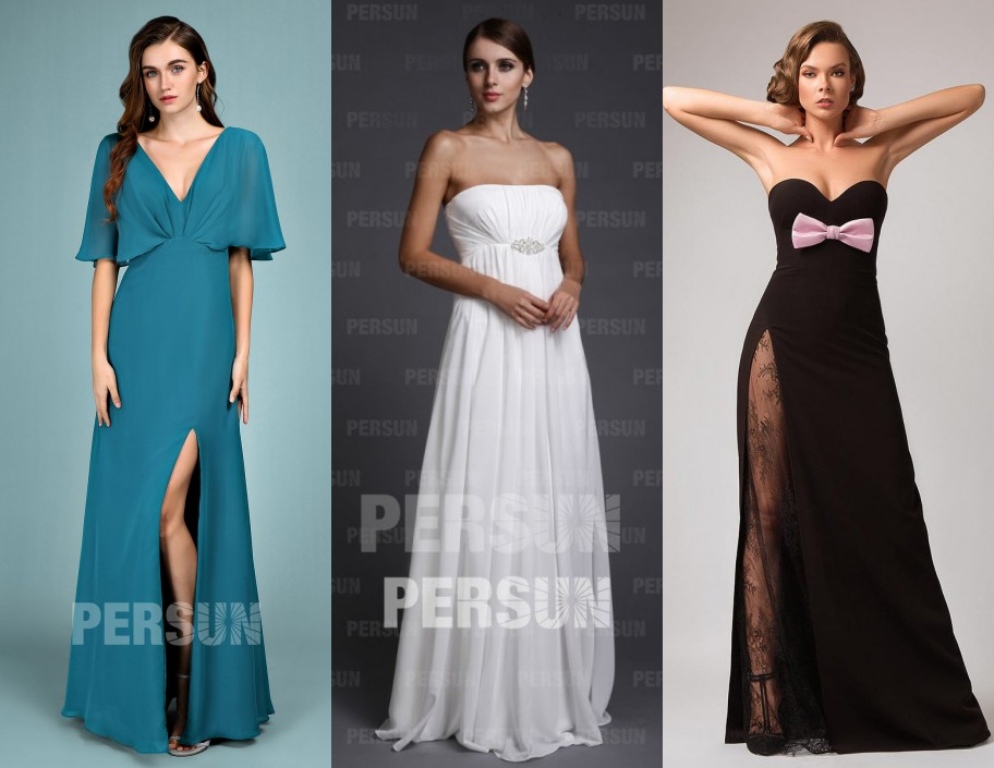 robe empire de soirée longue