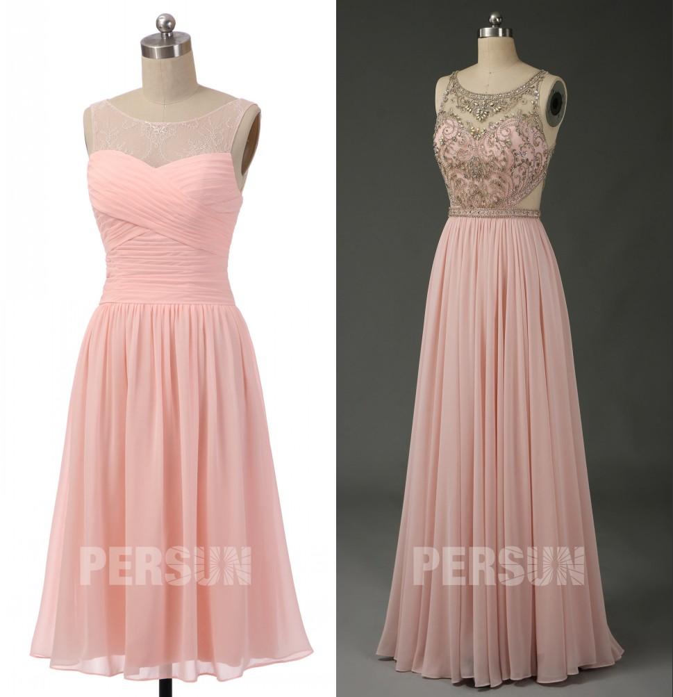 magnifique robe rose
