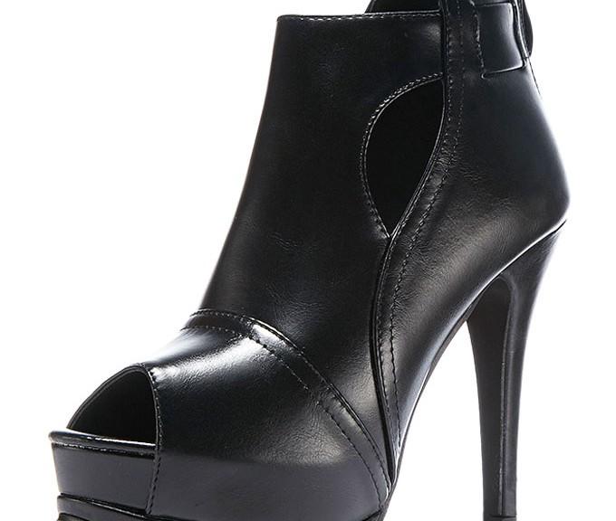 bottine-femme-noir-bout-ouvert-plateforme-talon-haut-ajoure